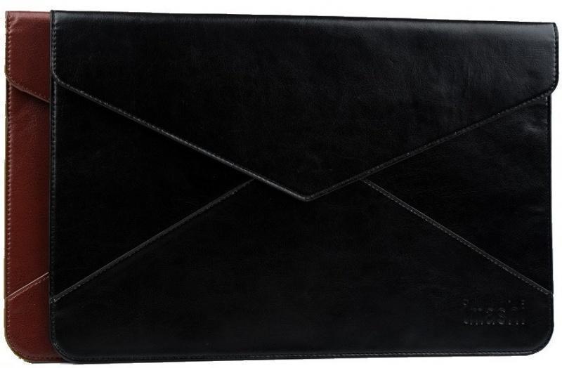 """Чехол-конверт кожаный Imashi для Apple MacBook Air 11"""" коричневый"""