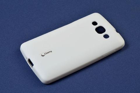 Чехол-накладка Cherry для LG G2 силиконовый (белый)для LG<br>Чехол-накладка Cherry для LG G2 силиконовый (белый)<br>