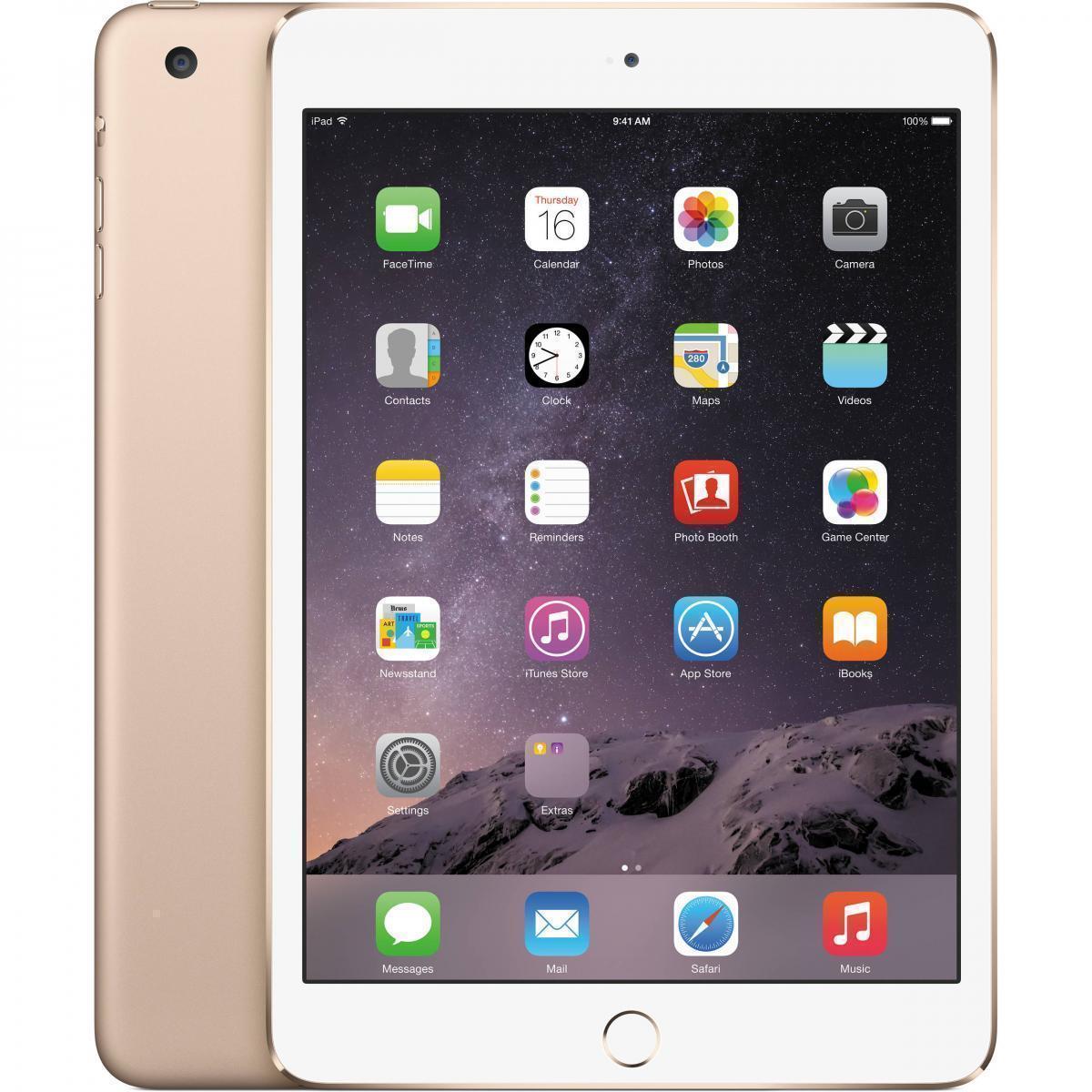 Apple iPad mini 4 16Gb Wi-Fi + Cellular GoldiPad mini 4<br>Планшет Apple iPad mini 4 16Gb Wi-Fi + Cellular Gold<br>