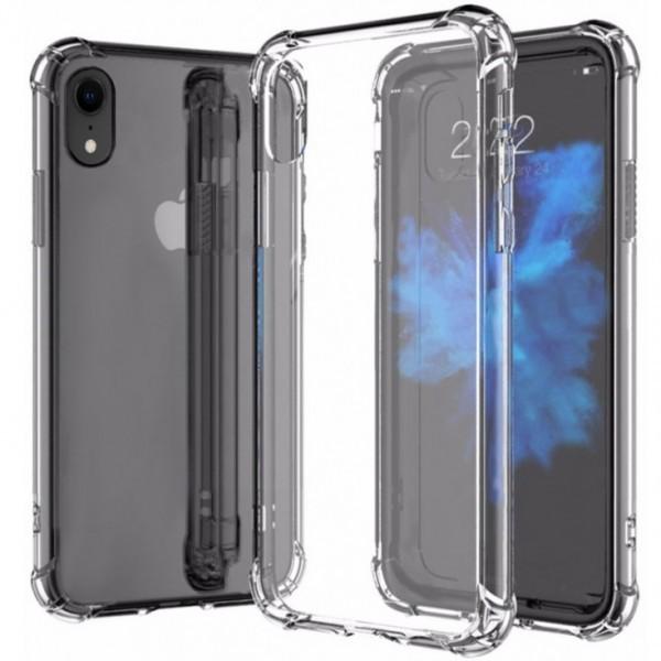 Купить Чехол-накладка Armor для Apple iPhone XR противоударный силиконовый (прозрачный)
