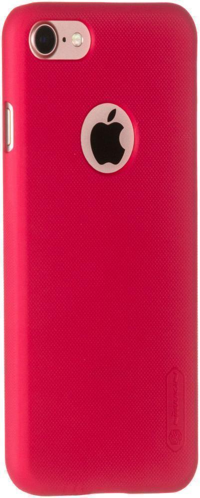 Чехол-накладка Nillkin Frosted Shield для Apple iPhone 7/8 пластиковый красныйдля iPhone 7/8<br>Чехол-накладка Nillkin Frosted Shield для Apple iPhone 7/8 пластиковый красный<br>