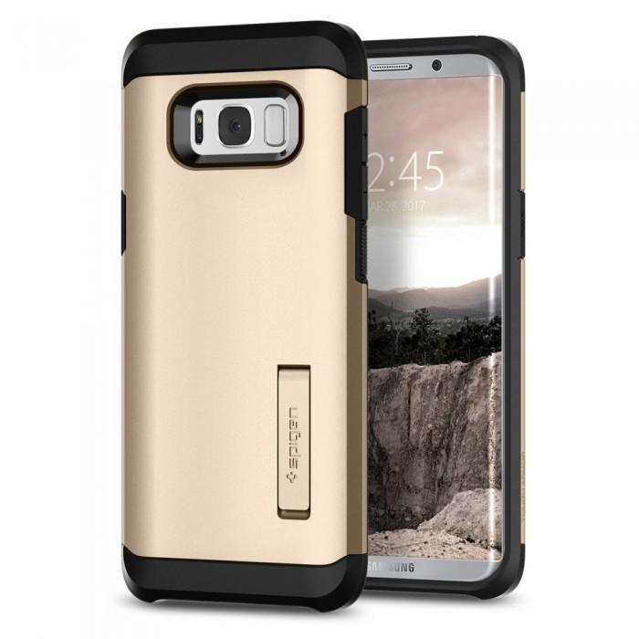 Чехол-накладка Spigen Tough Armor для Samsung Galaxy S8+ золотой (SGP 571CS21694)