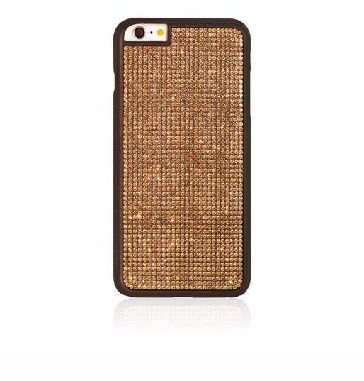 Чехол-накладка Bling My Thing Glam для Apple iPhone 6 Plus/6S Plus Dazzle Goldдля iPhone 6 Plus/6S Plus<br>Чехол-накладка Bling My Thing Glam для Apple iPhone 6 Plus/6S Plus Dazzle Gold<br>