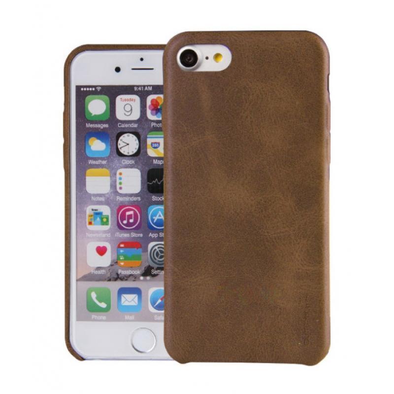 Чехол-накладка Uniq Outfitter Vintage для Apple iPhone 7/8 (натуральная кожа) Brownдля iPhone 7/8<br>Чехол-накладка Uniq Outfitter Vintage для Apple iPhone 7/8 (натуральная кожа) Brown<br>