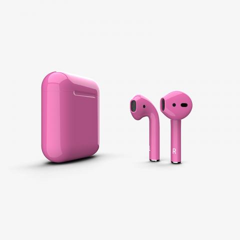 Беспроводная гарнитура Apple AirPods 2 Wireless (Gloss Pink)