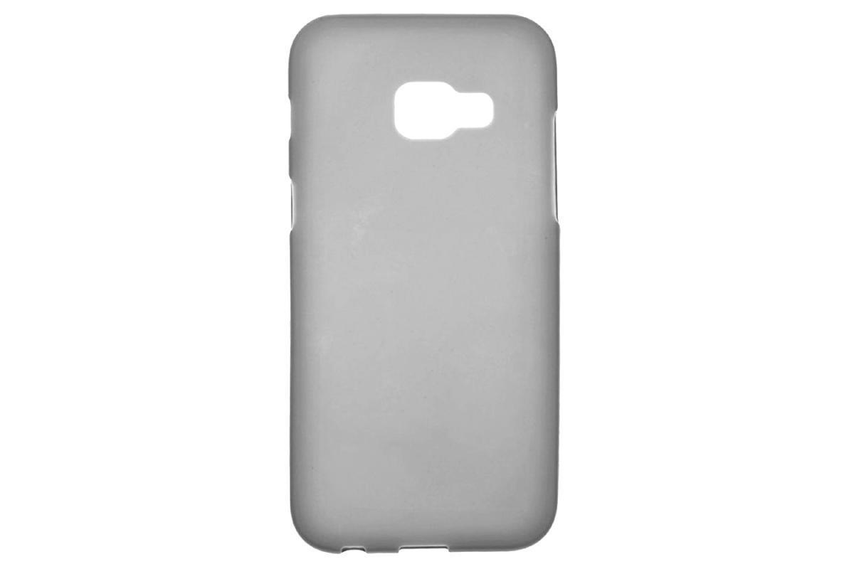 Чехол-накладка для Samsung Galaxy S III GT-I9300 силикон-пластик (серый-салатовый)