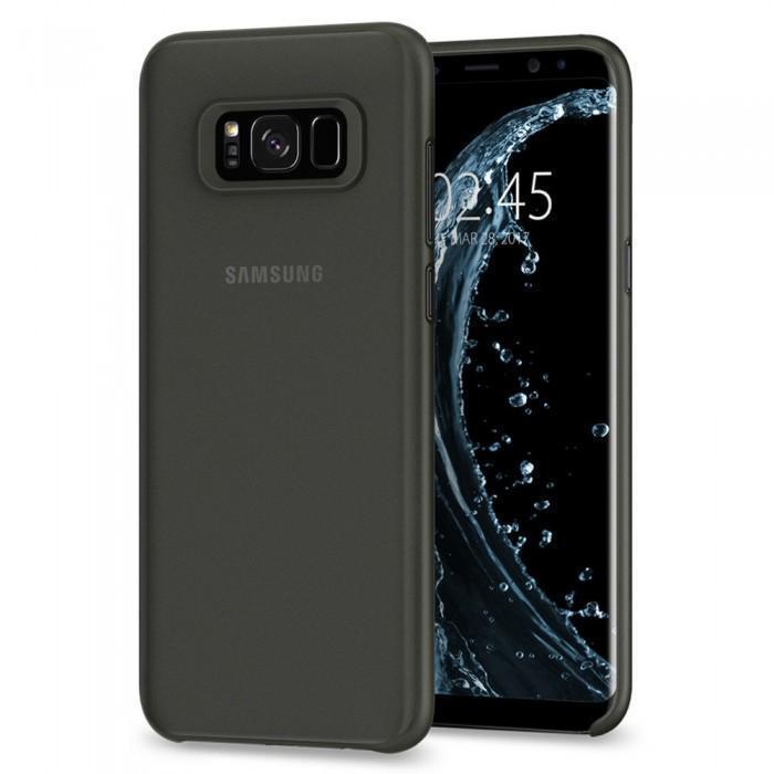 Чехол-накладка Spigen Air Skin для Samsung Galaxy S8+ черный (SGP 571CS21678)для Samsung<br>Чехол-накладка Spigen Air Skin для Samsung Galaxy S8+ черный (SGP 571CS21678)<br>