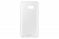 Купить Чехол-накладка Samsung Clear Cover для Galaxy A5 (2017) пластик (прозрачный) EF-QA520TTEGRU