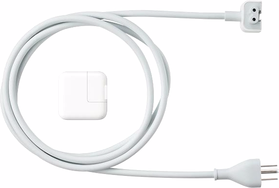 Сетевое зарядное устройство Apple iPad 2.1A / 10W USB Power Adapter белый MC359ZM/A