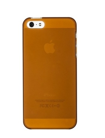 Чехол-накладка Xinbo 0.8mm для Apple iPhone 5C пластиковый (коричневый)