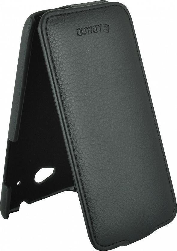 Чехол-книжка Armor Case для HTC Desire 601 искусственная кожа черныйдля HTC<br>Чехол-книжка Armor Case для HTC Desire 601 искусственная кожа черный<br>