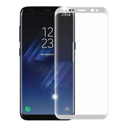 Защитное стекло Glass PRO (3D) Screen для Samsung Galaxy S8 (SM-G950) цветное белая рамкадля Samsung<br>Защитное стекло Glass PRO (3D) Screen для Samsung Galaxy S8 (SM-G950) цветное белая рамка<br>