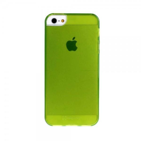 Купить Чехол-накладка для Apple iPhone SE/5S/5 силиконовый (салатовый)