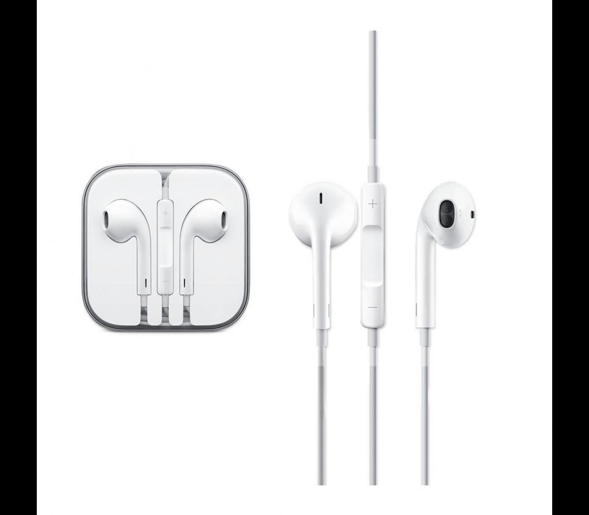 Проводная стерео-гарнитура Devia Smart EarPods (вкладыши с микрофоном и пультом) белыйПроводные гарнитуры для телефонов<br>Проводная стерео-гарнитура Devia Smart EarPods (вкладыши с микрофоном и пультом) белый<br>