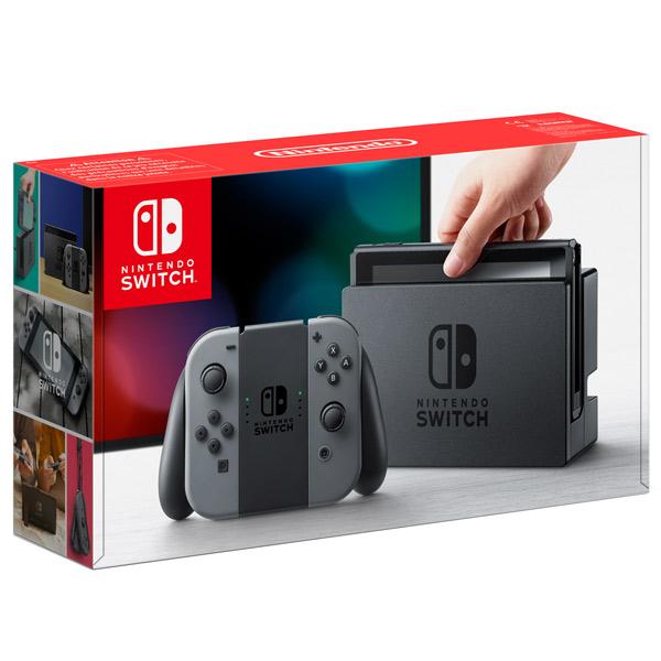 Купить Игровая консоль Nintendo Switch (серый)