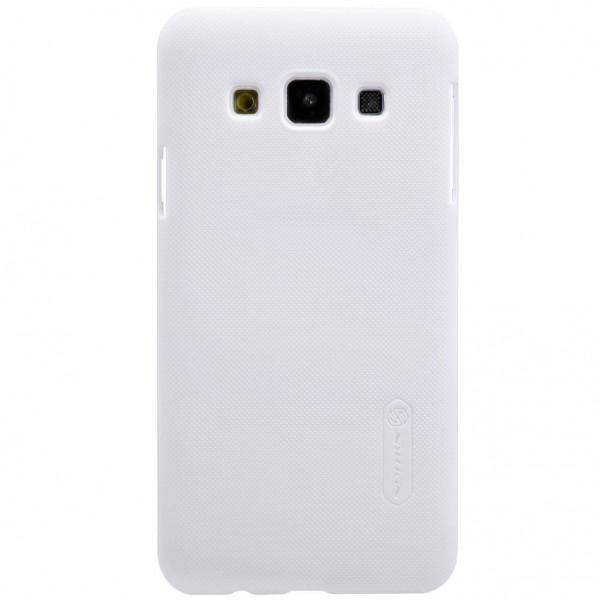 Чехол-накладка Nillkin Frosted Shield для Samsung Galaxy A3 (SM-A300) пластиковый белыйдля Samsung<br>Чехол-накладка Nillkin Frosted Shield для Samsung Galaxy A3 (SM-A300) пластиковый белый<br>