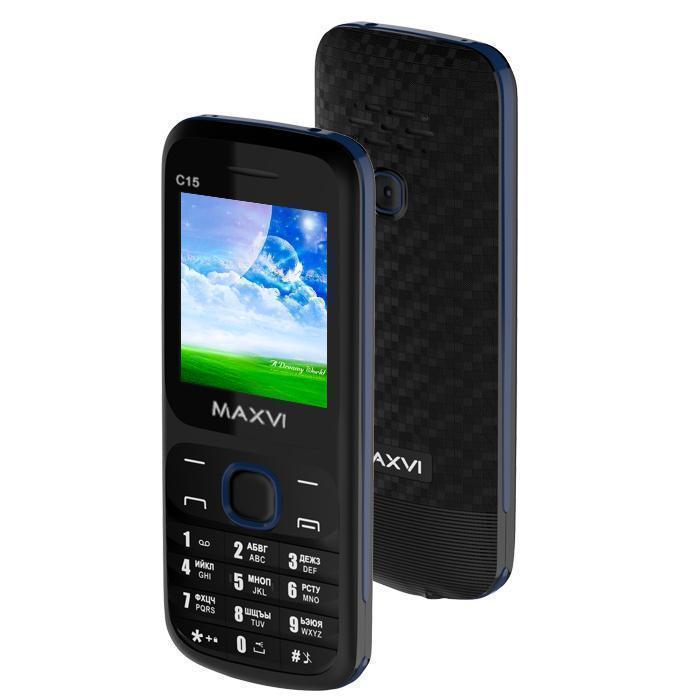 Maxvi C15 Black BlueMaxvi<br>Maxvi C15 Black Blue<br>
