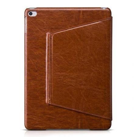 Чехол-книжка Hoco Crystal Leather case для iPad Pro 12.9 (2018) натуральная кожа (коричневый) фото