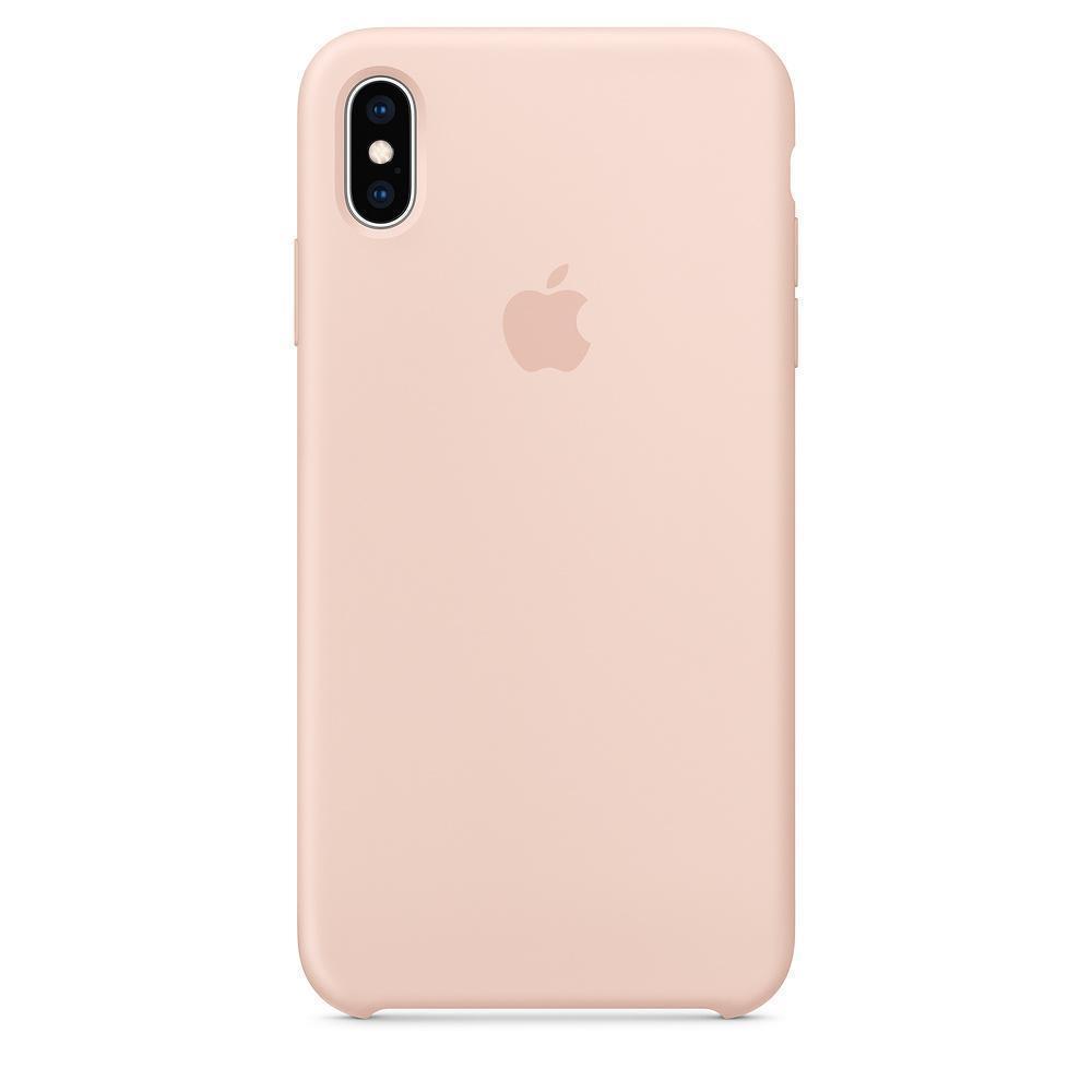 Купить Чехол-накладка Apple Silicone Case Series для iPhone XS Max силикон Pink Sand (MTFD2ZM/A)