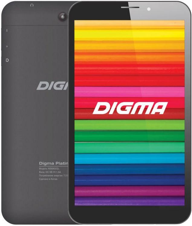 Digma Platina 7.2 BlackDigma<br>Digma Platina 7.2 Black<br>