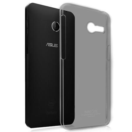 Чехол-накладка Slim Case для Asus Zenfone 4 (A400CG) силиконовый прозрачно-черныйдля ASUS<br>Чехол-накладка Slim Case для Asus Zenfone 4 (A400CG) силиконовый прозрачно-черный<br>