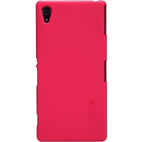 Чехол-накладка Nillkin Frosted Shield для Sony Xperia Z2 пластиковый красныйдля Sony<br>Чехол-накладка Nillkin Frosted Shield для Sony Xperia Z2 пластиковый красный<br>