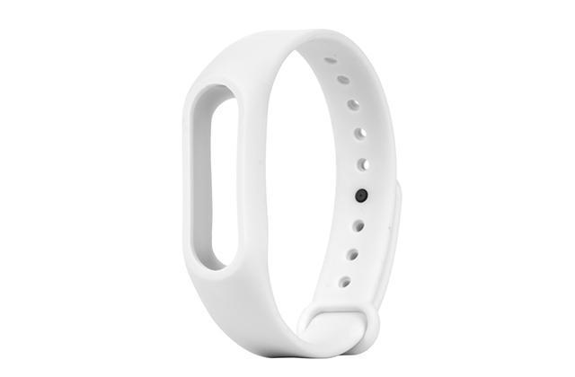 Ремешок силиконовый для фитнес трекера Xiaomi Mi Band 2 whiteРемешки и браслеты для умных часов и фитнес-браслетов Xiaomi<br>Ремешок силиконовый для фитнес трекера Xiaomi Mi Band 2 white<br>