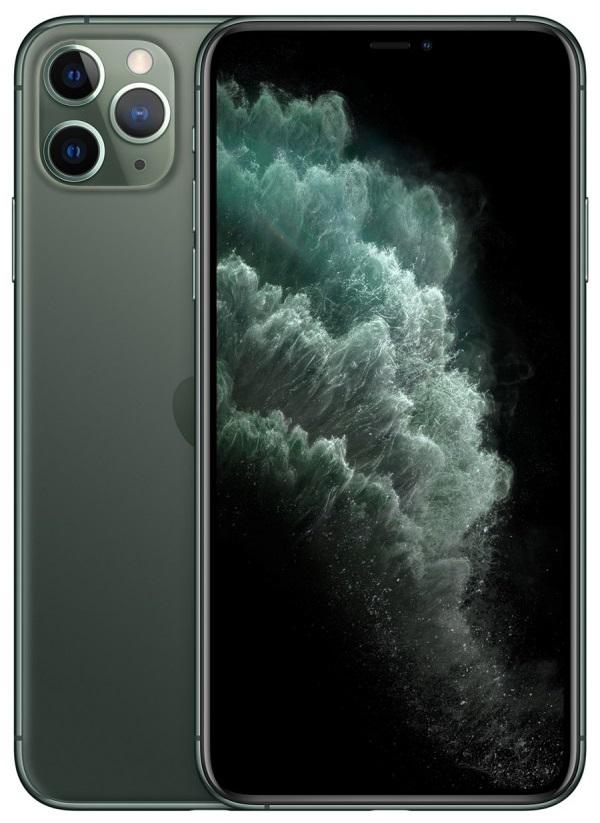 Apple iPhone 11 Pro Max 256Gb (Midnight Green) (MWHM2RU/A)