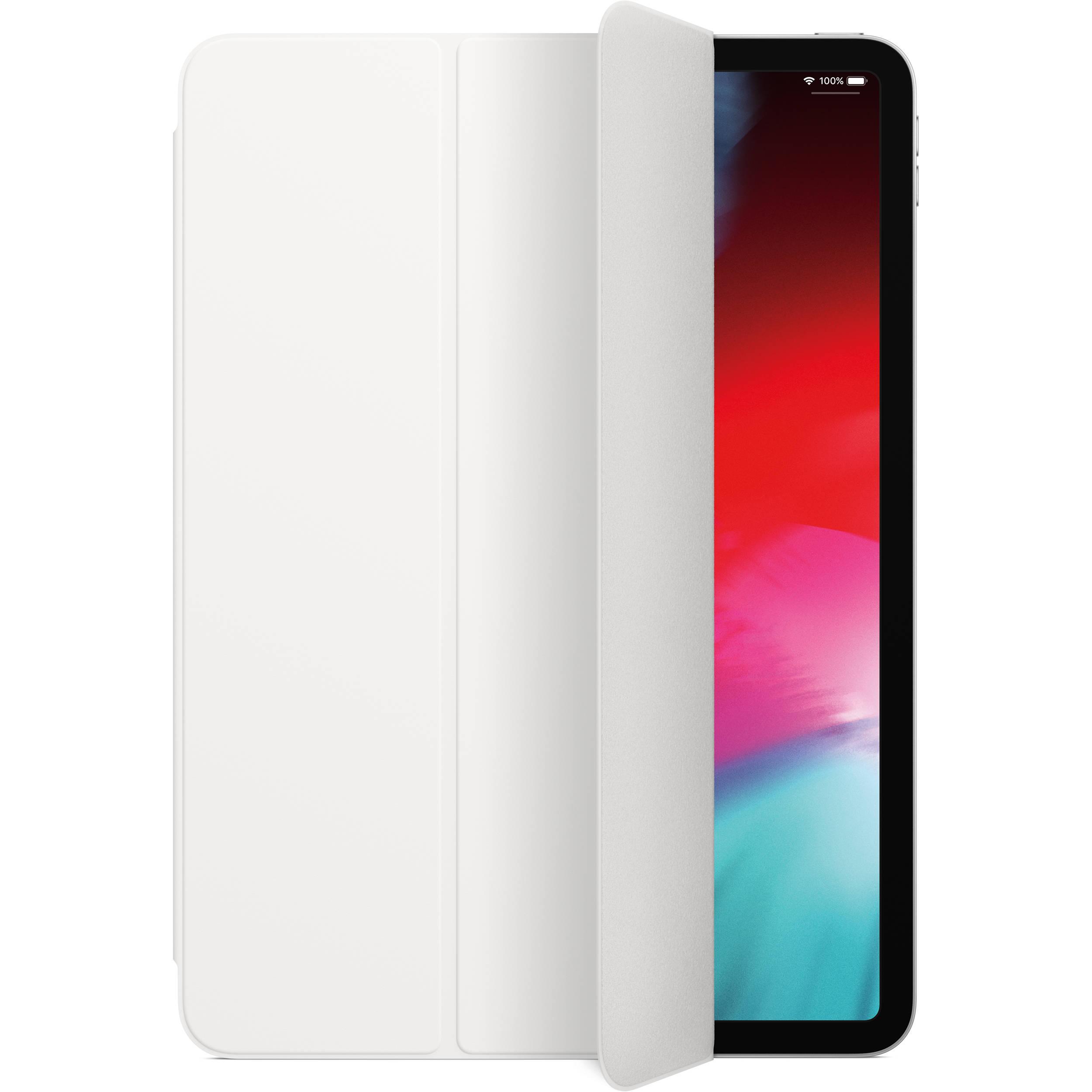 Купить Чехол Apple Smart Folio для iPad Pro 11 (MRX82ZM/A) (полиуретан с подставкой) (white)