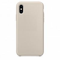 Купить Чехол-накладка Silicone Case Series для Apple iPhone XS Max (кирпичный)