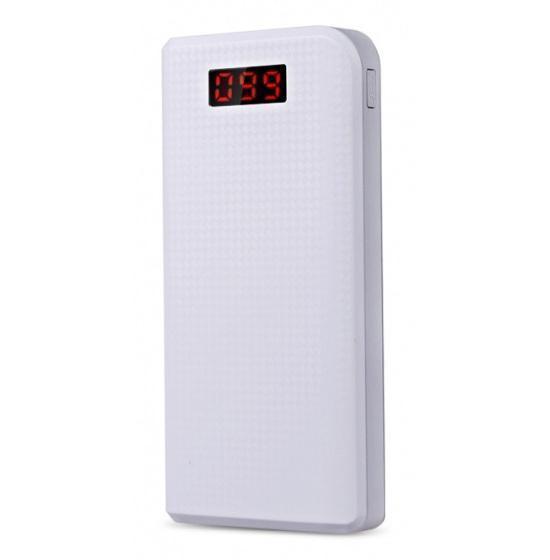 Универсальный внешний аккумулятор Remax Proda 30000 mAh 1 А/ 2.1 А, USBx2 пластик WhiteУниверсальные внешние аккумуляторы<br>Универсальный внешний аккумулятор Remax Proda 30000 mAh 1 А/ 2.1 А, USBx2 пластик White<br>