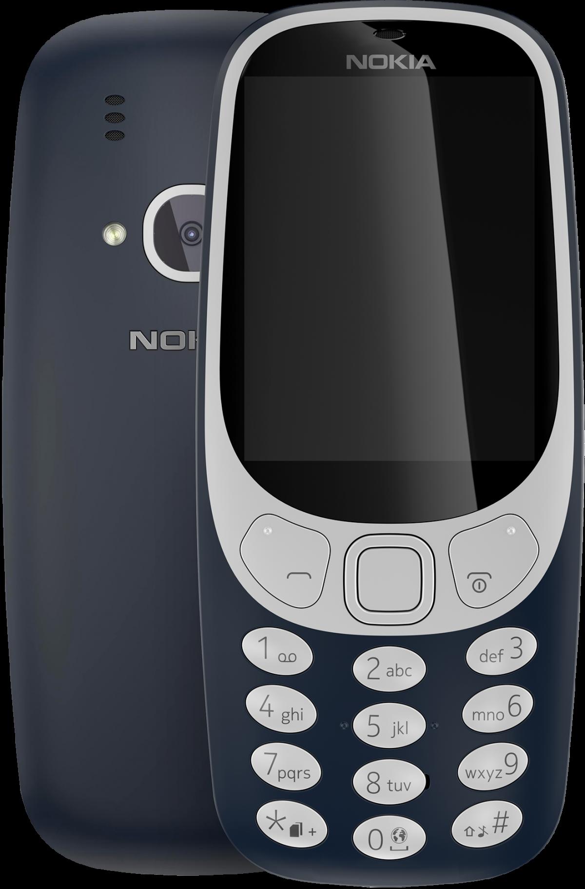 Nokia 3310 Dual Sim (2017) Dark Blue (A00028099)