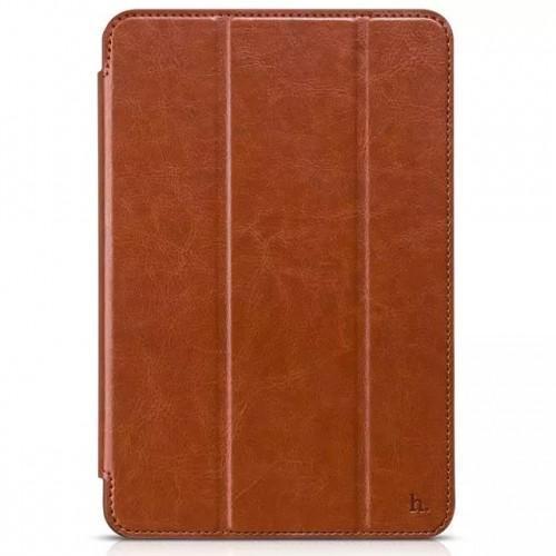 Чехол-книжка Hoco Crystal Series для Apple iPad mini 4 (искусственная кожа с подставкой) коричневый