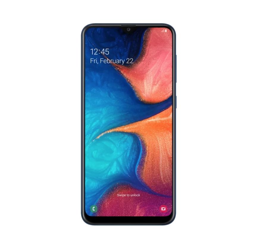 Samsung Galaxy A20s (SM-A207F/DS) 32Gb (Синий) (SM-A207FZBDSER)