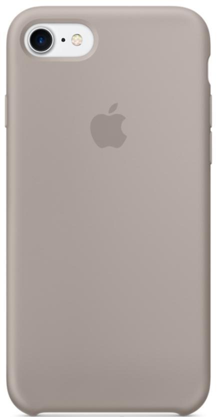 Чехол-накладка Apple Silicone Case для iPhone 7/8 силиконовый морская галькадля iPhone 7/8<br>Чехол-накладка Apple Silicone Case для iPhone 7/8 силиконовый морская галька<br>