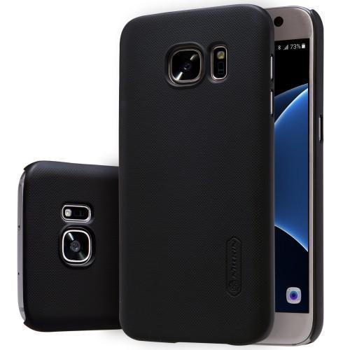 Чехол-накладка Nillkin Frosted Shield для Samsung Galaxy S7 (SM-G930) пластиковый черныйдля Samsung<br>Чехол-накладка Nillkin Frosted Shield для Samsung Galaxy S7 (SM-G930) пластиковый черный<br>