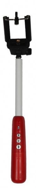 Монопод для смартфона Extendable Handheld Monopod YZ-08 с Bluetooth красный