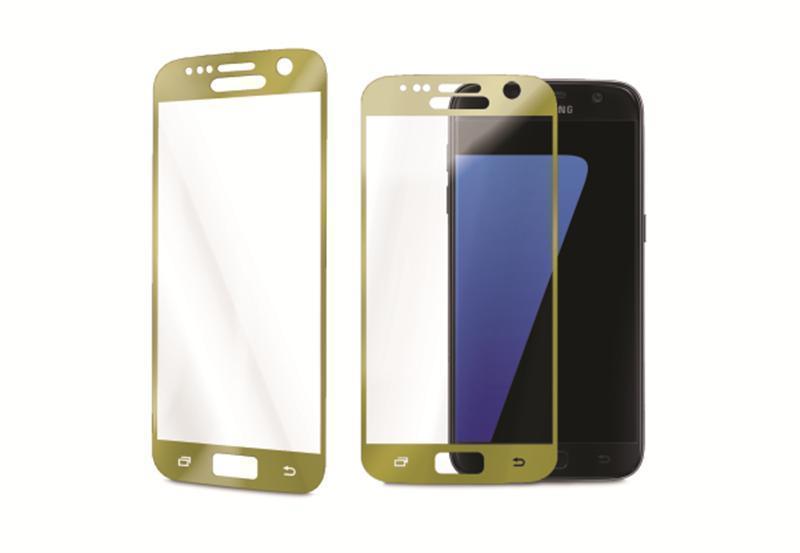 Защитное стекло Glass PRO (3D) Screen для Samsung Galaxy S7 (SM-G930) цветное золотая рамкадля Samsung<br>Защитное стекло Glass PRO (3D) Screen для Samsung Galaxy S7 (SM-G930) цветное золотая рамка<br>
