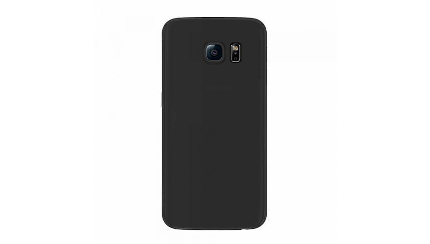 Чехол-накладка Deppa Sky Case для Samsung Galaxy S6 Edge (SM-G925) пластик черный + защитная пленкадля Samsung<br>Чехол-накладка Deppa Sky Case для Samsung Galaxy S6 Edge (SM-G925) пластик черный + защитная пленка<br>