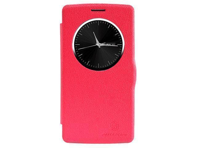 Чехол-книжка Nillkin Fresh Series для LG G3 натуральная кожа (красный)для LG<br>Чехол-книжка Nillkin Fresh Series для LG G3 натуральная кожа (красный)<br>