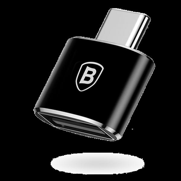 Картинка для Адаптер Baseus Converter USB-A/Type-C (CATOTG-01) черный