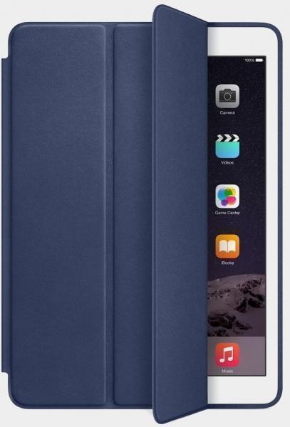 Чехол-книжка Smart Case для Apple iPad mini 4 (искусственная кожа с подставкой) темно-синий