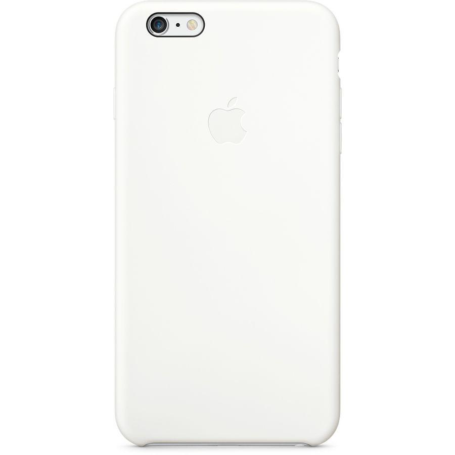 Купить со скидкой Чехол-накладка Apple Silicone Case для iPhone 6 Plus/6S Plus силиконовый White (MGRF2ZM/A)