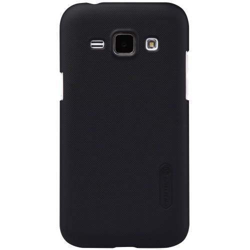 Чехол-накладка Nillkin Frosted Shield для Samsung Galaxy J1 Mini (2016) J105 пластиковый черныйдля Samsung<br>Чехол-накладка Nillkin Frosted Shield для Samsung Galaxy J1 Mini (2016) J105 пластиковый черный<br>