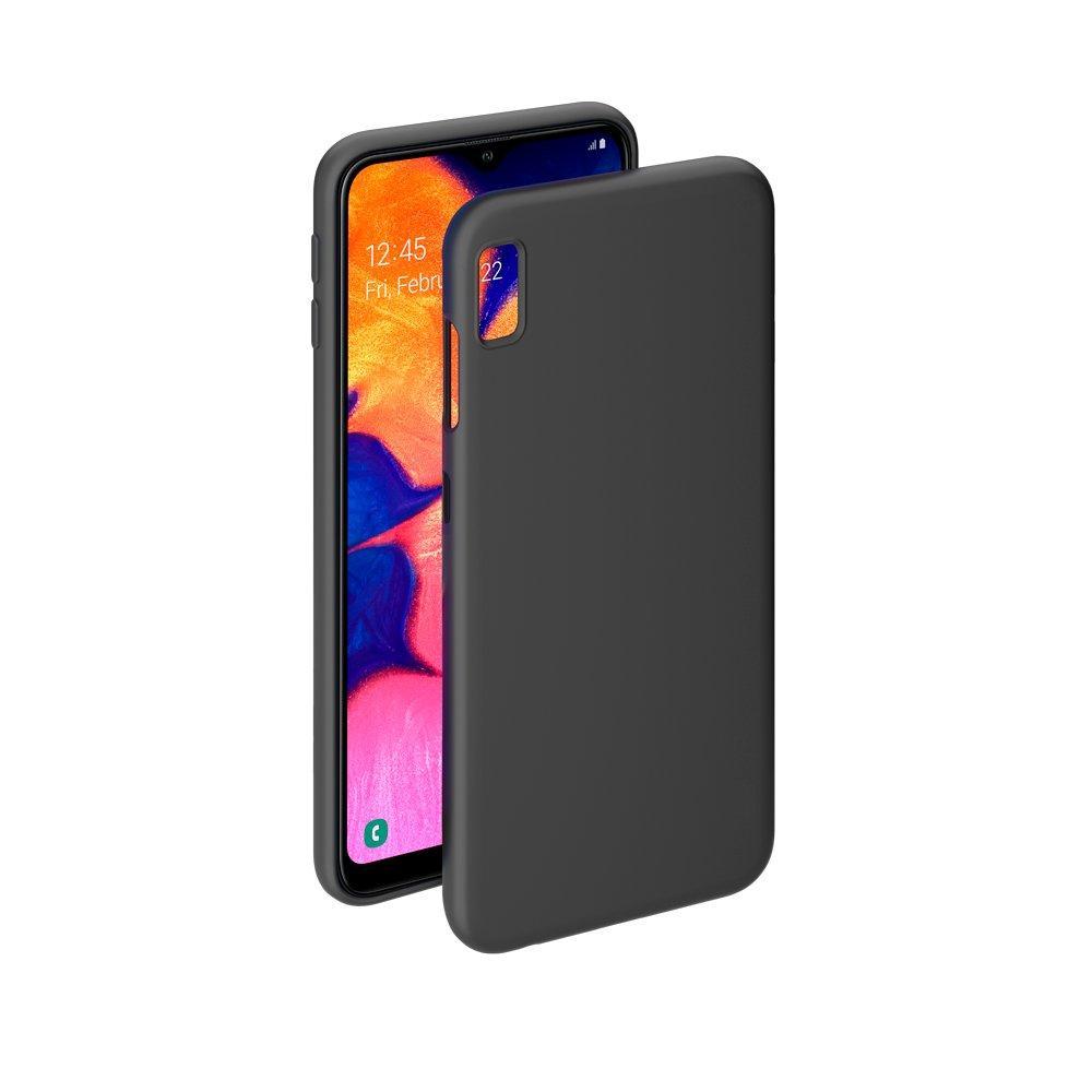 Чехол-накладка для Samsung Galaxy A10 (2019) SM-A105 силиконовый (черный)
