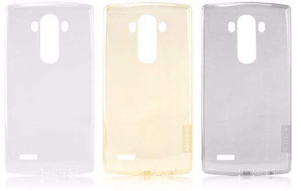 Чехол-накладка Nillkin Nature 0.6mm для LG G4 / H818 / H815 силиконовый прозрачно-черныйдля LG<br>Чехол-накладка Nillkin Nature 0.6mm для LG G4 / H818 / H815 силиконовый прозрачно-черный<br>