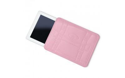 Чехол-пенал Mustard Shopperholic для Apple iPad 2/3/4 винил (розовый)для Apple iPad 2/3/4<br>Чехол-пенал Mustard Shopperholic для Apple iPad 2/3/4 винил (розовый)<br>
