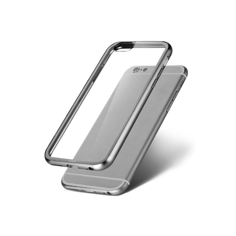 Чехол-накладка Hoco Double Color Series для Apple iPhone 6/6S силиконовый Silverдля iPhone 6/6S<br>Чехол-накладка Hoco Double Color Series для Apple iPhone 6/6S силиконовый Silver<br>