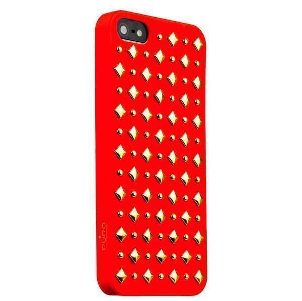 Купить Чехол-накладка Puro Rock для Apple iPhone SE/5S/5 Red