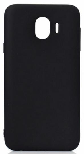 Купить Чехол-накладка для Samsung Galaxy J4 (2018) SM-J400 силикон (черный)